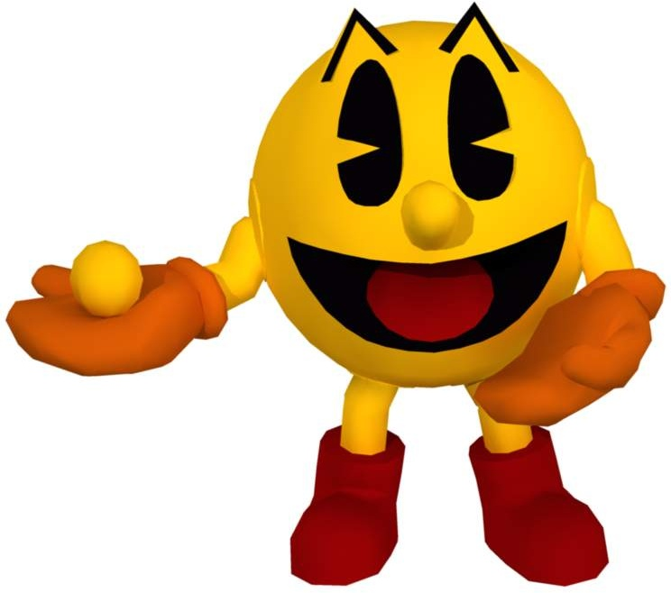 It is a picture of Refreshing Pac Man Render