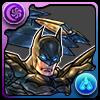 No.1476  バットマン+BWステルス(蝙蝠俠+蝙蝠戰機 隱形模式)