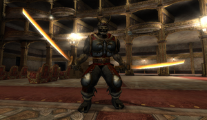 Evil Samurai in Opera House