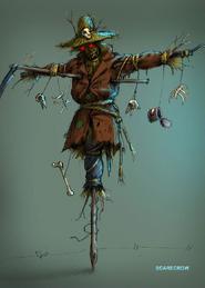 Scarecrow Concept Art