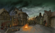 Concept art of Village Of The Damned