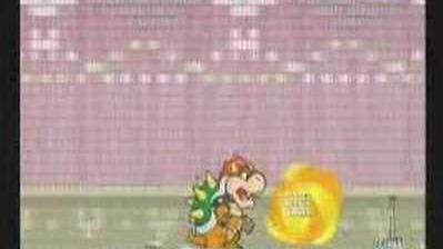 Super Paper Mario - Francis battle