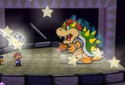 Paper Mario Bowser final battle Nintendo 64