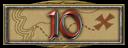V badge10BadgeBadge