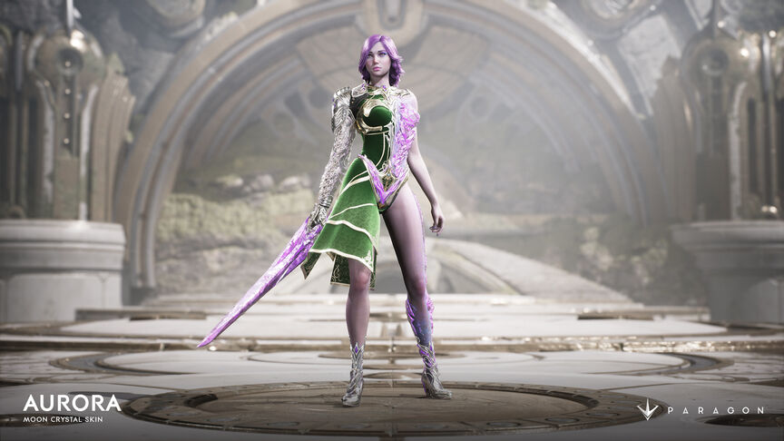 Aurora Moon Crystal skin