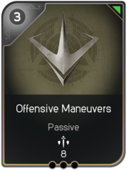 Offensive Maneuvers card