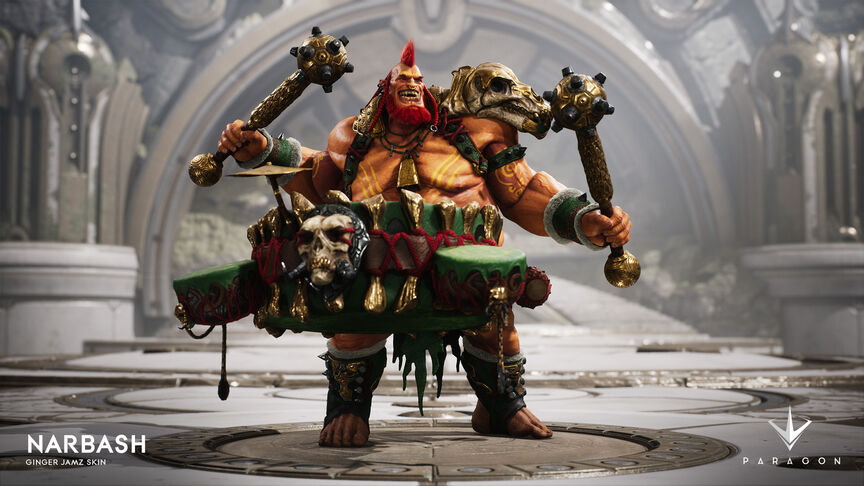 Narbash Ginger Jamz skin