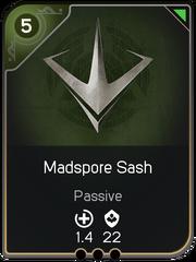 Madspore Sash card