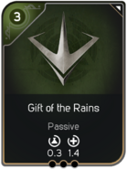 Gift of the Rains