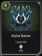 Alpha Barrier