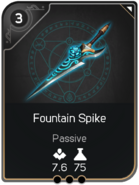 Fountain Spike