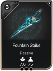 Fountain Spike card