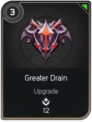 Greater Drain card