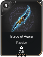 Blade of Agora card