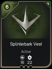 Splinterbark Vest card