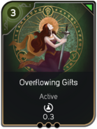Overflowing Gifts