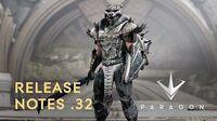Paragon - Release Notes