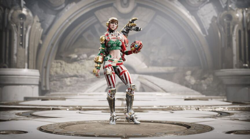 Gadget Ugly Sweater skin