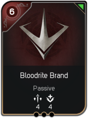 Bloodrite Brand card