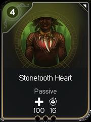 Stonetooth Heart card