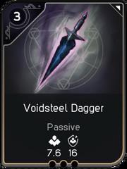 Voidsteel Dagger card