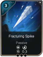 Fracturing Spike