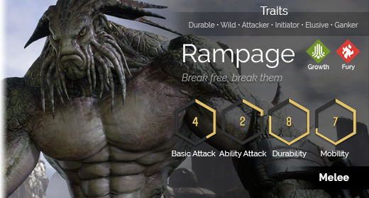 Rampage hover