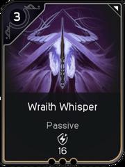 Wraith Whisper card