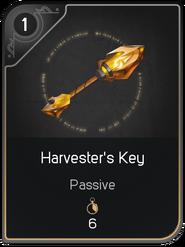 Harvester's Key card