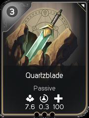 Quartzblade card
