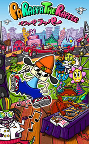 PaRappa The Rapper PSP poster