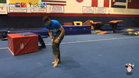 How to back handspring tutorial part 4 tumbling lesson