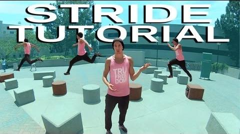How To STRIDE & Bound Parkour TUTORIAL (Jesse La Flair)