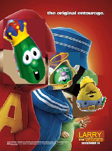 larry and the veggies alvin and the chipmunks the