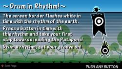 Drum in rhythm