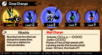 Mad charge