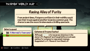 Ephemeral dreams dashed quest info