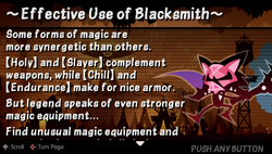 Effective use of blacksmith