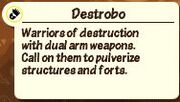 Destrobodescription