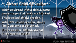 About shield evasion