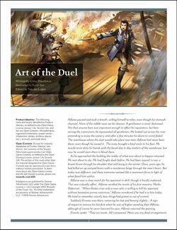 Art of duel