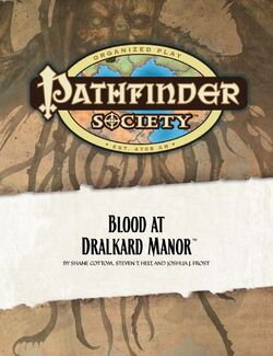 Blood at Dralkard Manor