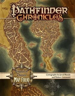 Council of Thieves Map Folio