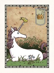 Harrow unicorn