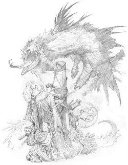 Summoner sketch