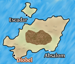 Diobel map