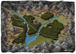 Bloodsworn Vale map