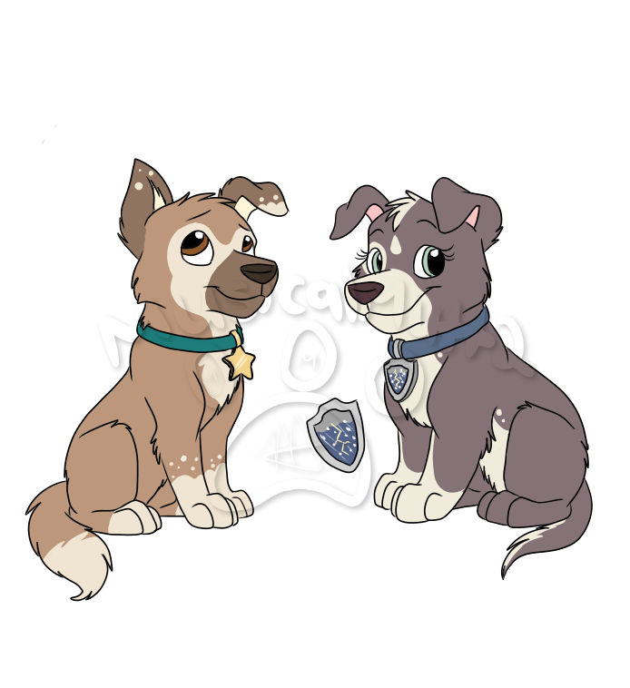 A Starry Night Sky Twixxvega Pups Paw Patrol Fanon Wiki