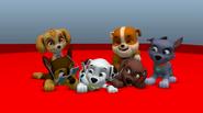 PAW Patrol Animation Pups