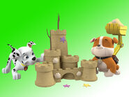 PAW Patrol Marshall and Rubble Summer